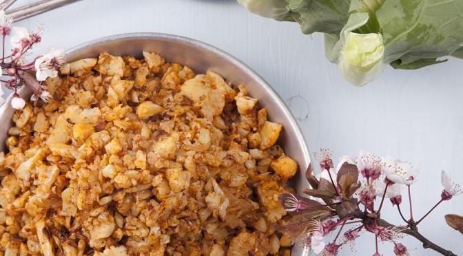 Harissa Cauliflower Rice Version 1