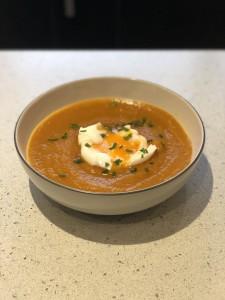 sweet potato turmeric soup
